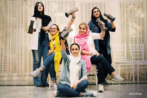 زنان ایرانی باریستا