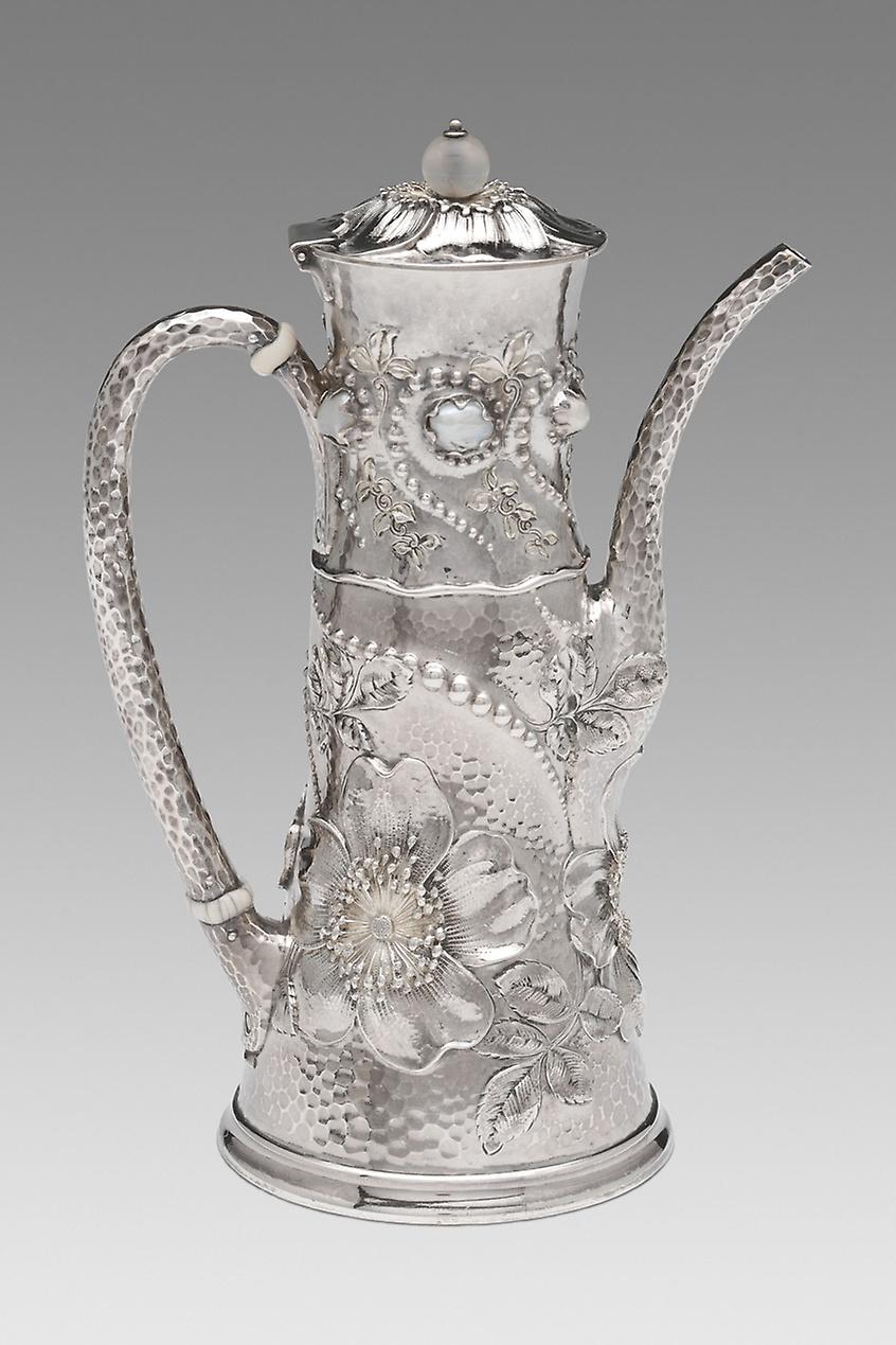 قوری قهوه اثر چارلز اُزبورن (1881/89)
