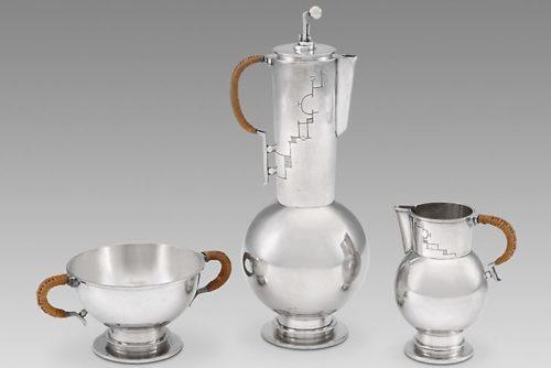 سرویس قهوهخوریاثر اَلبرت فِینائر (1929/30)