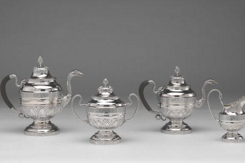 سرویس چای و قهوه اثر ژان سیمون چدرون (1809/12)
