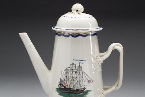 قوری قهوه با درپوش (1800-1790)