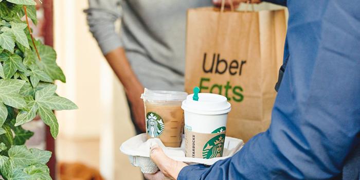 استارباکس و اوبر: تحویل فوری قهوه