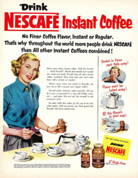 قهوه فوری- نسکافه