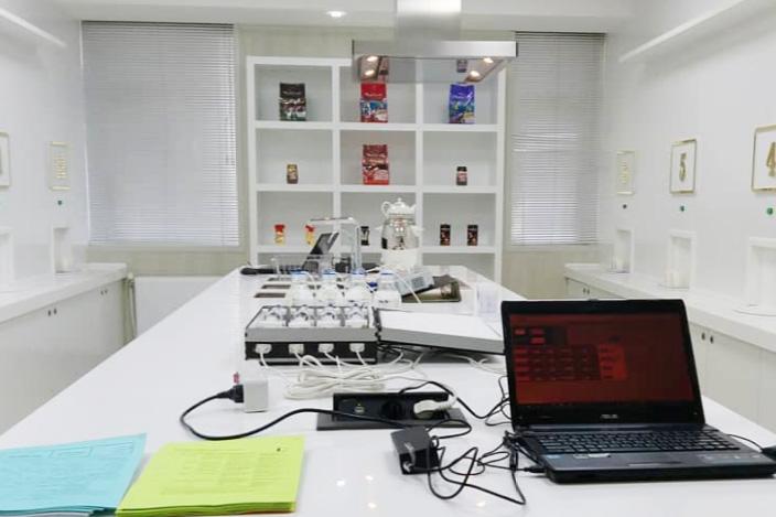 آزمایشگاه آنالیز حسی قهوه و مواد غذایی