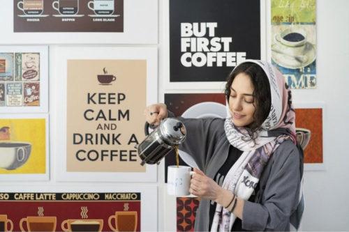 اما اول قهوه