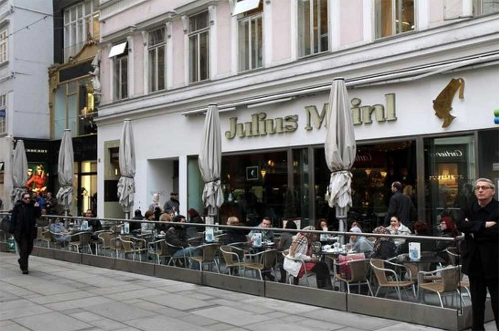 ژولیوس مینل خیابان گربن وین اتریش