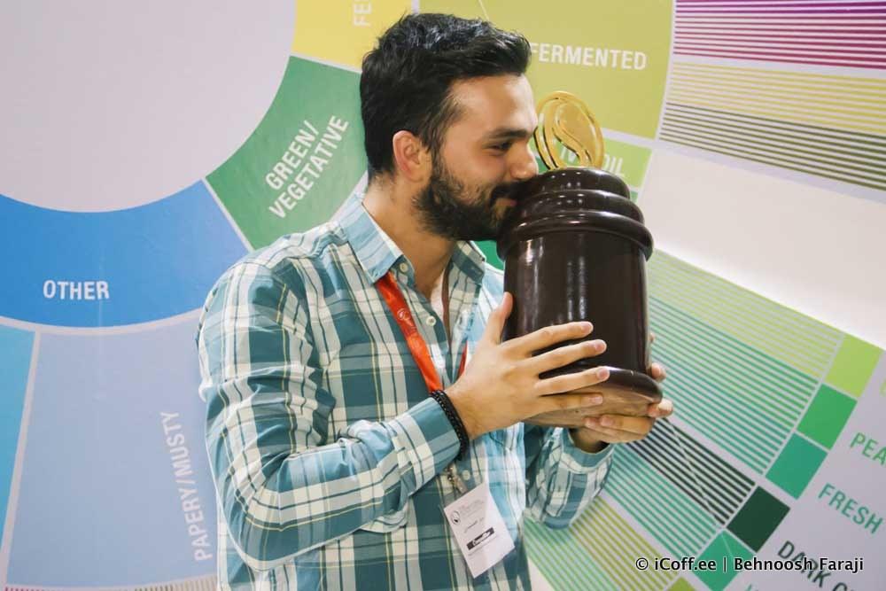مسابقه روست قهوه ایران