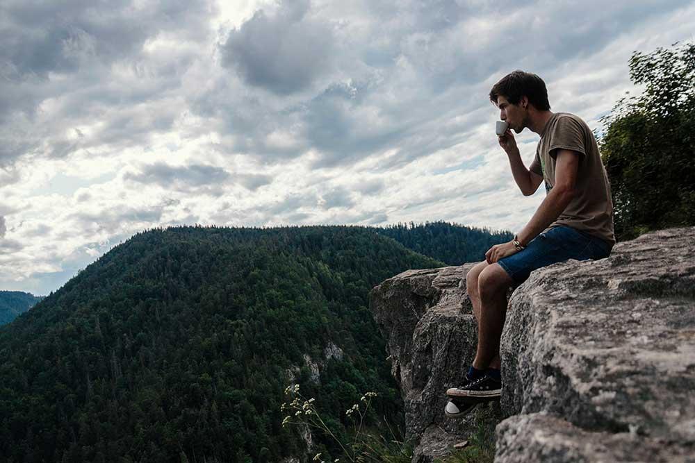 قهوه در کوهنوردی