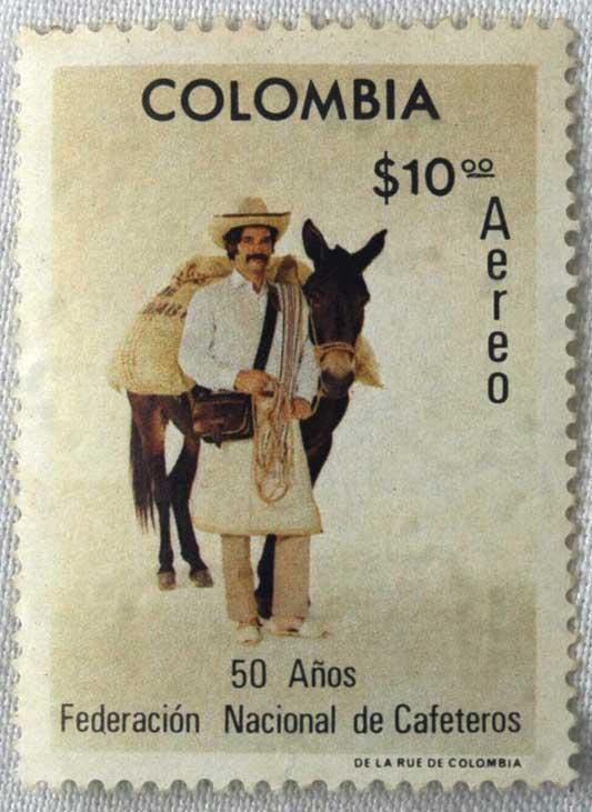 خوان والدز نماد قهوه کلمبیا