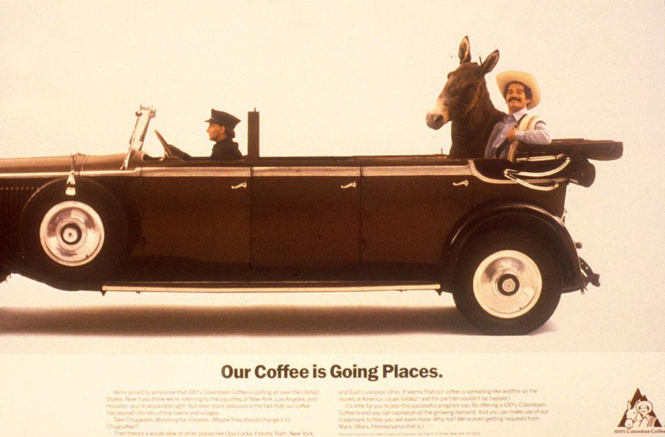 قهوه خوان والدز نماد قهوه کلمبیا
