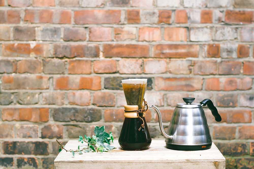 دمآوری قهوه