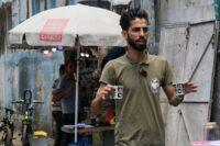 شعبان حموده؛ قهوهفروش فلسطینی - AFP