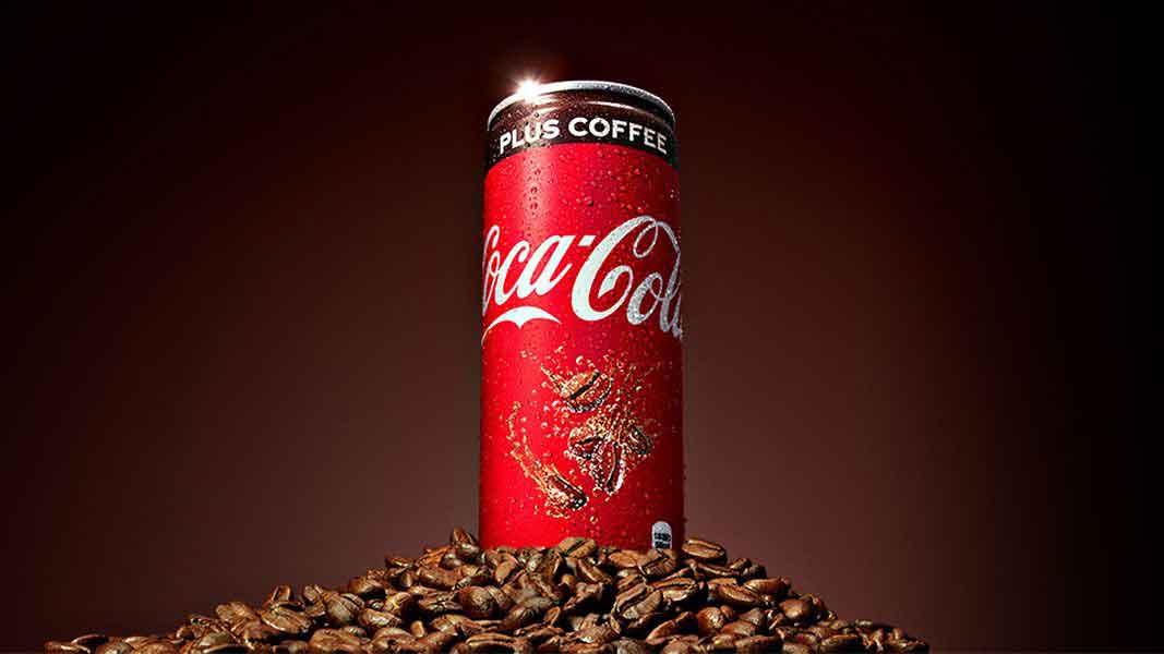 نوشیدنی ترکیبی کوکاکولا و قهوه