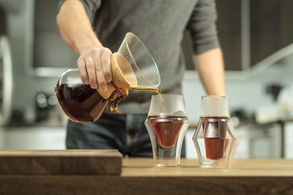 فنجانهای قهوه شرکت Kruve