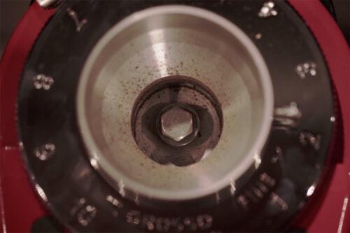 نظافت آسیاب قهوه